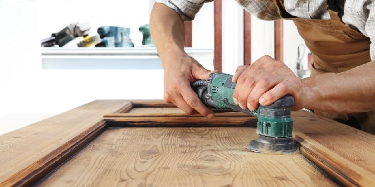 How To Properly Sand Wood Before Painting It