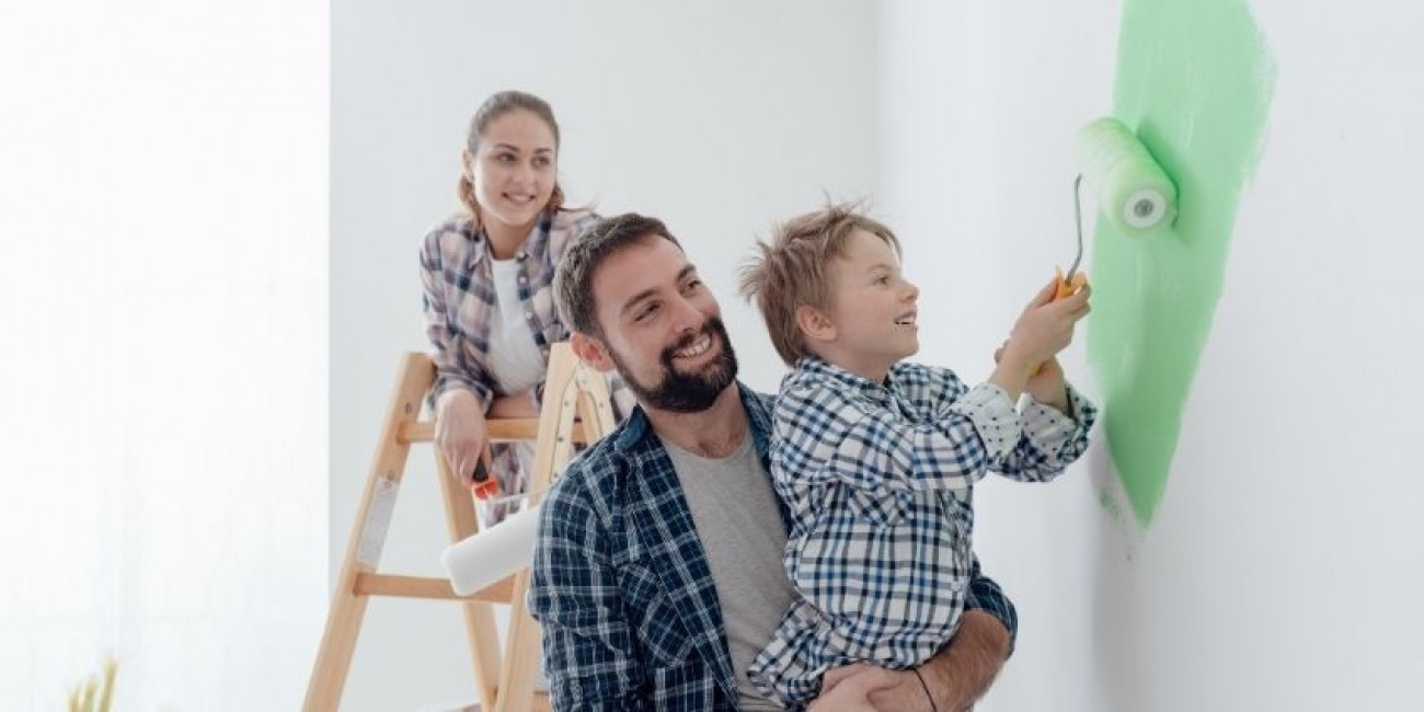 How To Get Kids Involved in Painting Their Room