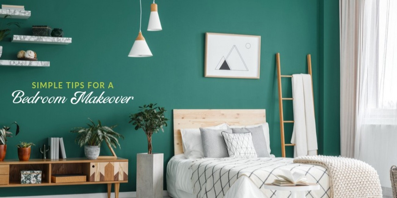 Simple Tips for a Bedroom Makeover