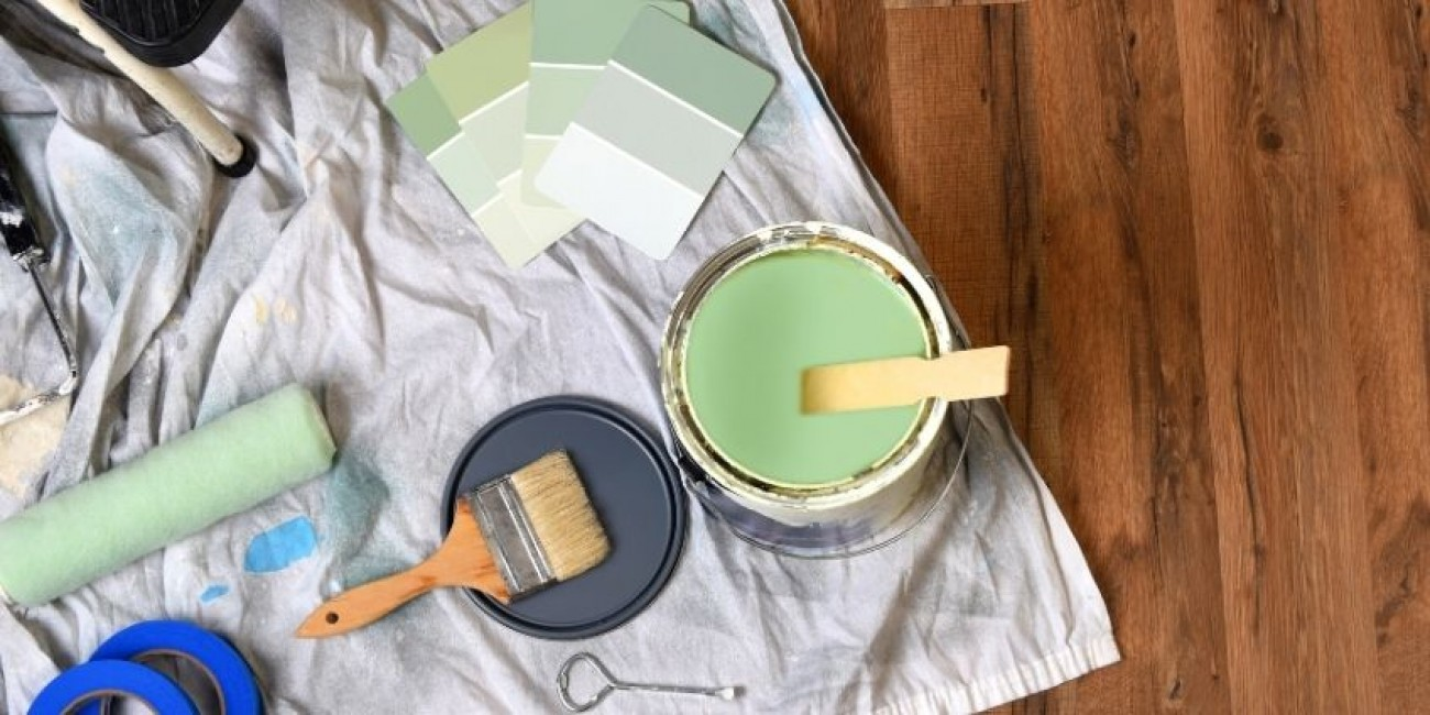 How To Clean up From Interior Painting