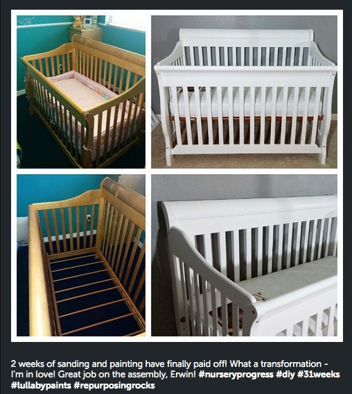 Lullaby Paints Crib Paint Baby Safe