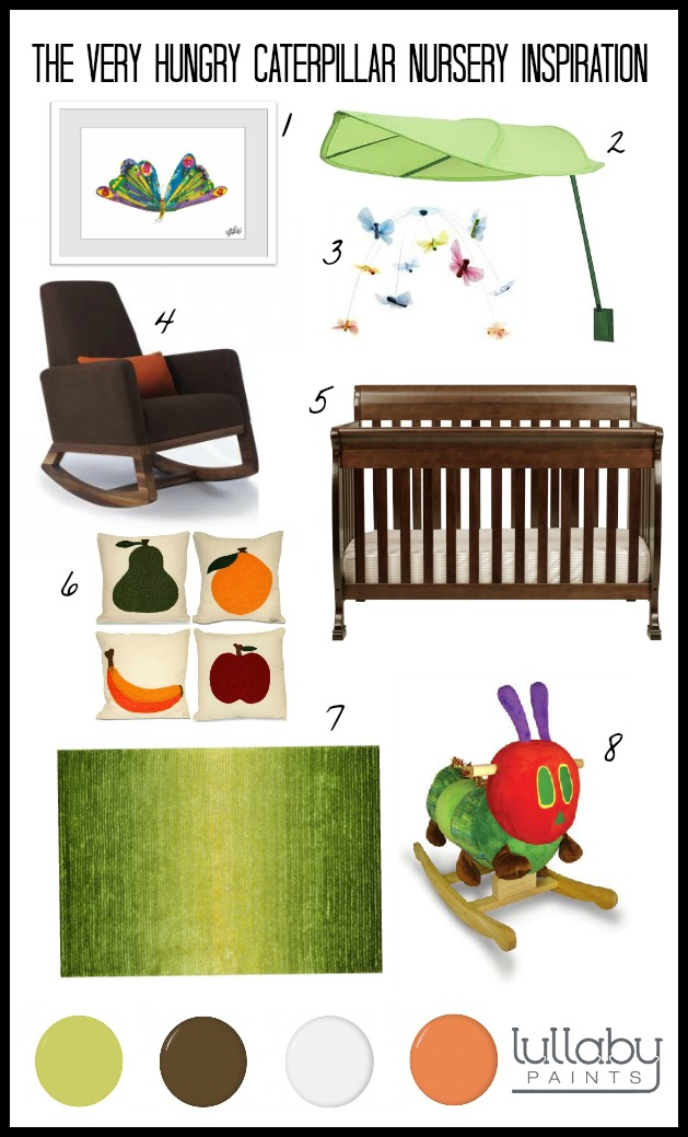 Storybook Nursery Design The Very Hungry Caterpillar Lullaby Paints
