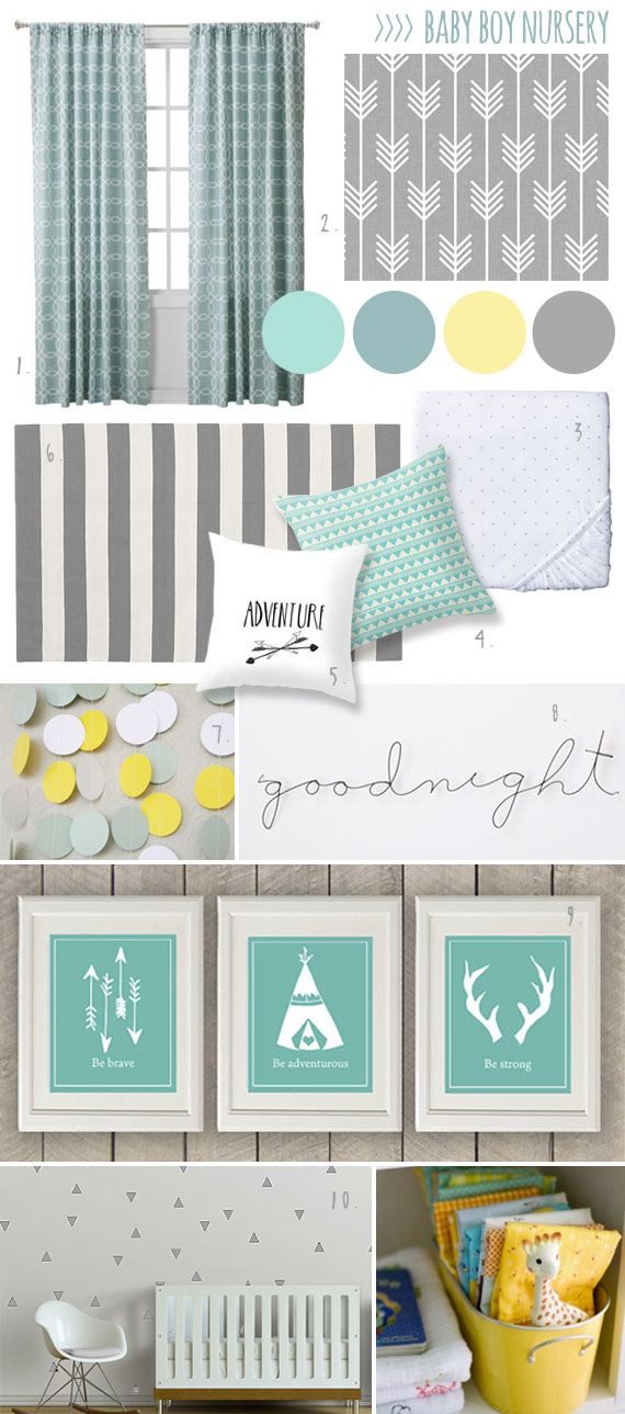 Most Popular Nursery Mood Boards Lullaby Paints