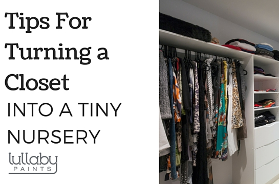 ... 2016 Tips For Turning A Closet Into A Tiny Nursery   Lullaby Paints